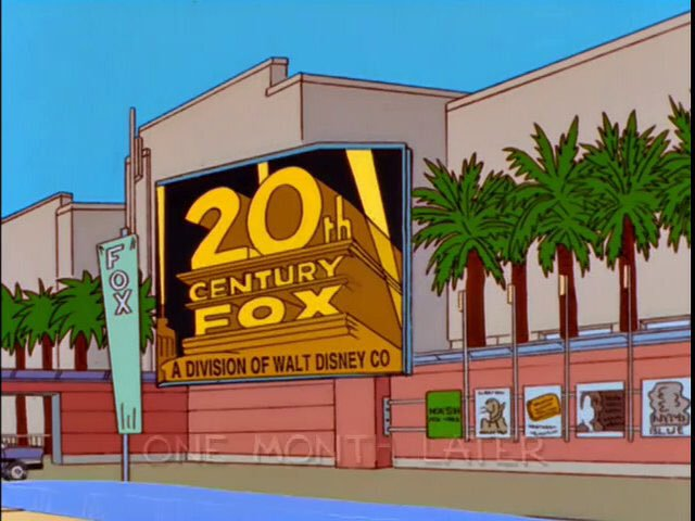 Симпсоны предсказали покупку 20th Century Fox