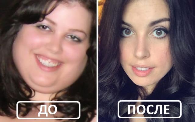 как потеря веса изменяет ваше лицо