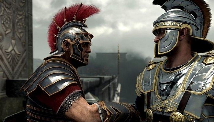Рукопожатие римских легионеров.
