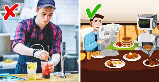 6. Работники быстрого питания
