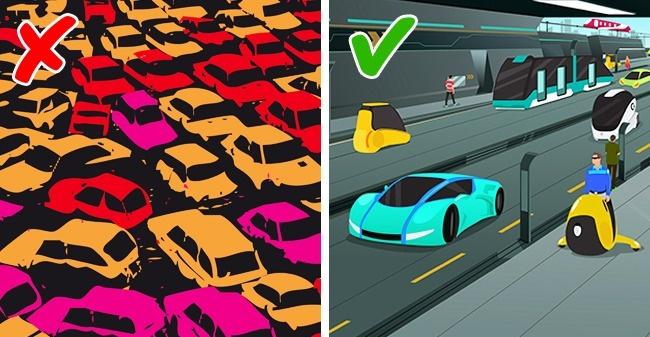 7. Автомобильные пробки