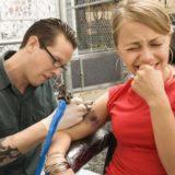 На каких частях тела больно делать тату, а на каких нет?