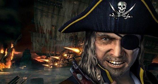 Пираты использовали повязку на глазу