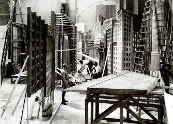 Процесс создания «Метрополиса»