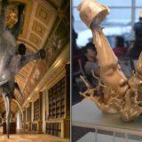 25 невероятных скульптур, которые бросают вызов гравитации