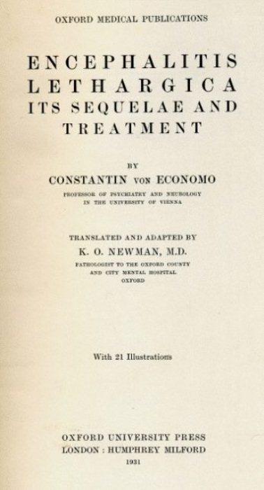 Трактат о летаргическом энцефалите