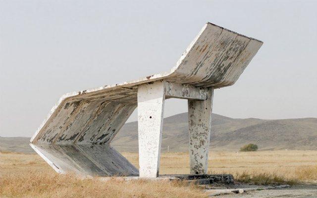 Необычные автобусные остановки советской эпохи