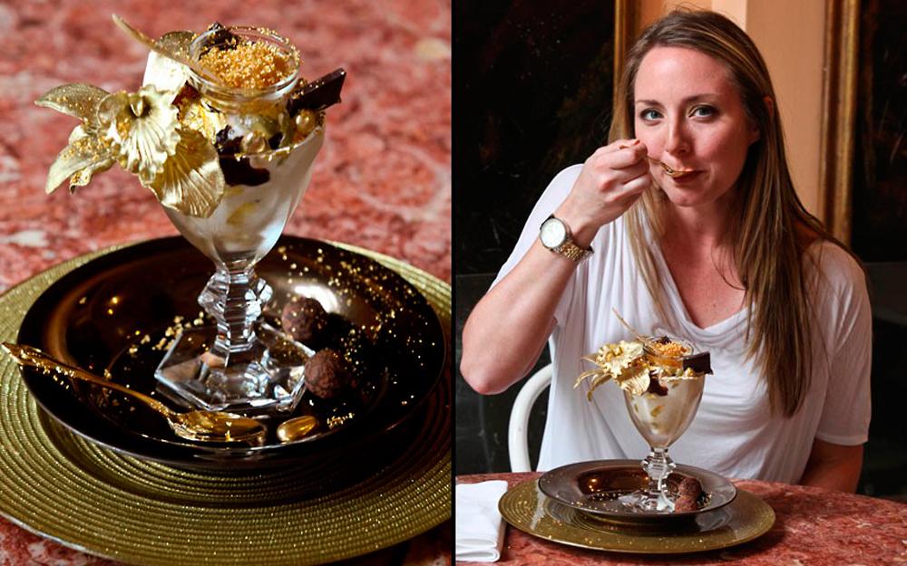 Самая дорогая в мире порция мороженого стоит 1000 долларов