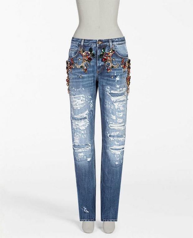 Самые дорогие джинсы года — Dolce & Gabbana