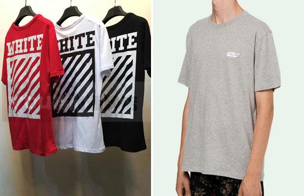 Самая дорогая футболка года — Off-White
