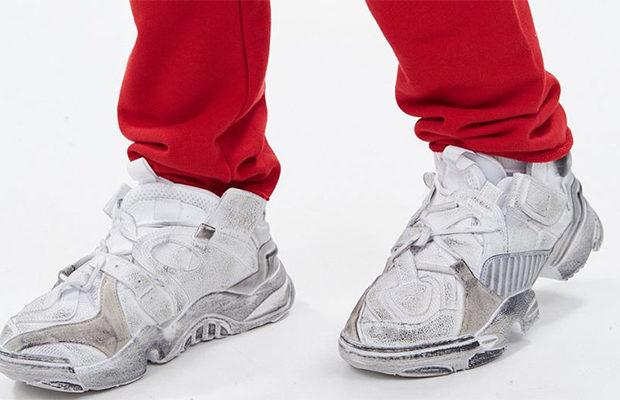 Самые дорогие грязные кроссовки года — Genetically Modified Pump от Vetements