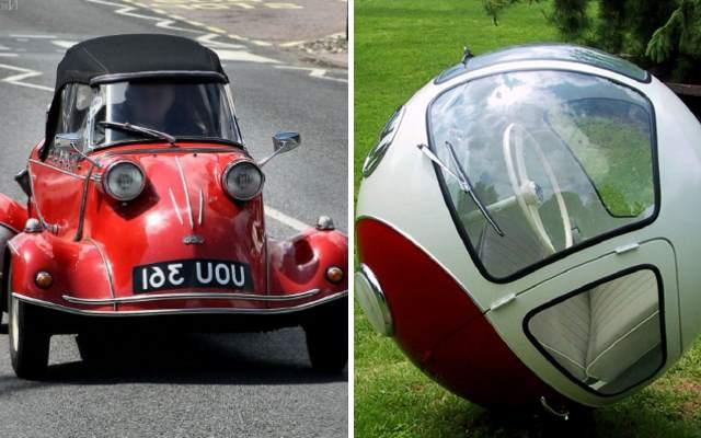 Самые странные и необычные автомобили