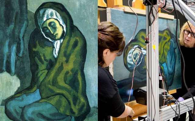 Секрет скрытый в картине Пикассо