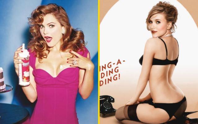 Сексуальные Pin-up образы знаменитостей