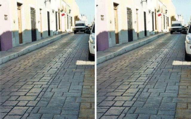 Слева и справа — абсолютно одинаковые фото одной и той же улицы! Но почему вы все равно не верите?