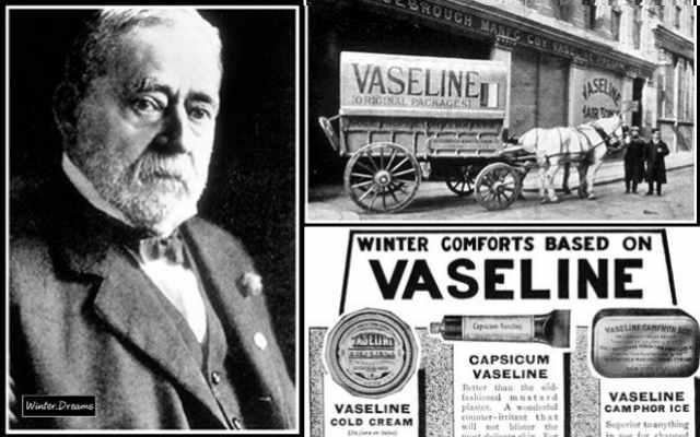 Удивительная история появления вазелина или «нефтяного желе»
