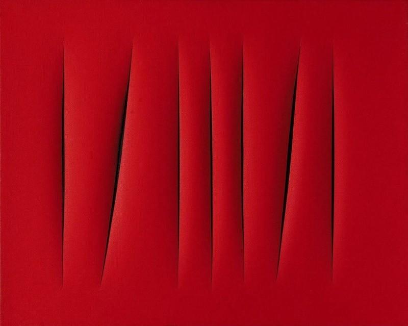 Лучо Фонтана. «Пространственная концепция. Ожидание» — 1,5 млн долларов