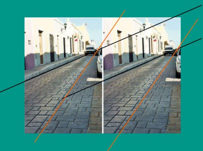 одинаковые фото одной и той же улицы