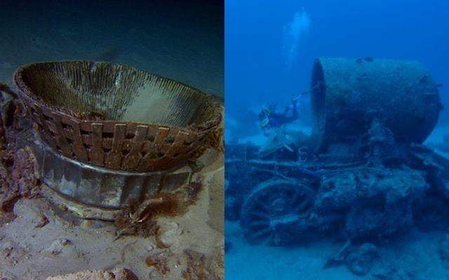 25 интересных подводных находок