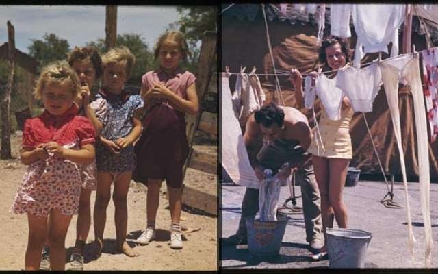 30 интересных фотографий, показывающих повседневную жизнь американцев в 1940-е годы