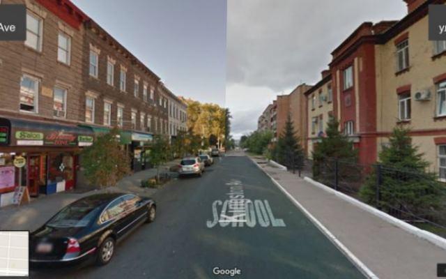 Что получится, если соединить улицы Красноярска и Нью-Йорка