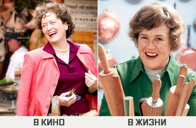 Мэрил Стрип— знаменитая Джулия Чайлд