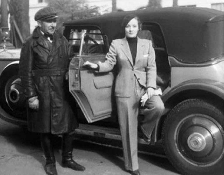 Марлен Дитрих в брюках, 1933 год
