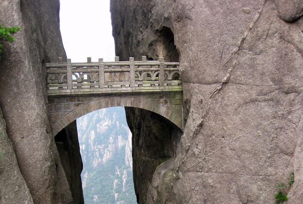 Мост Бессмертных, Хуанхсан, Китай