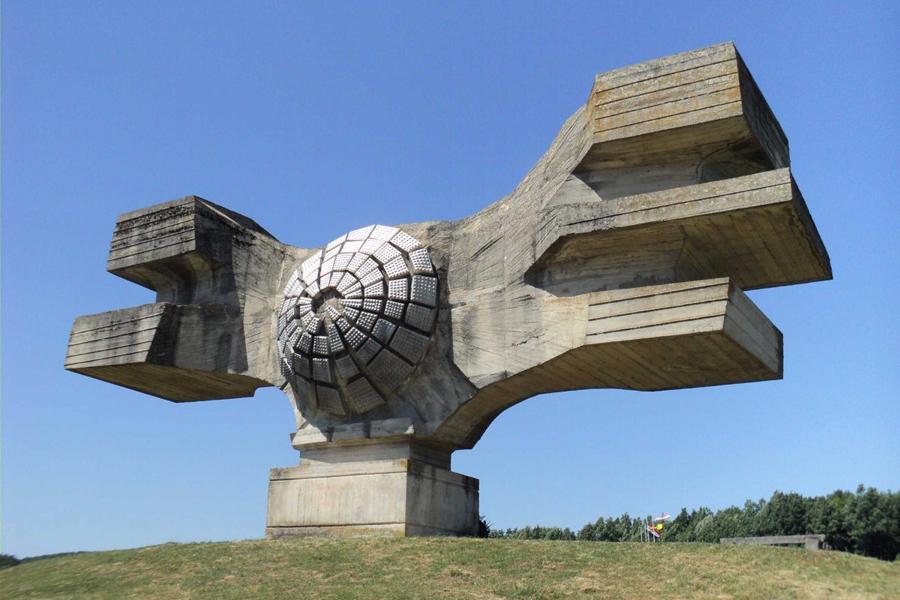 Памятник революции в Хорватии