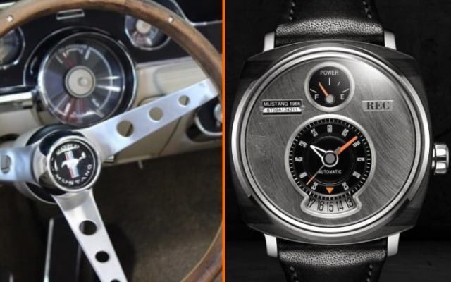 RecWatches - часы с автомобильной душой