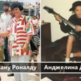 Редкие фото юных знаменитостей