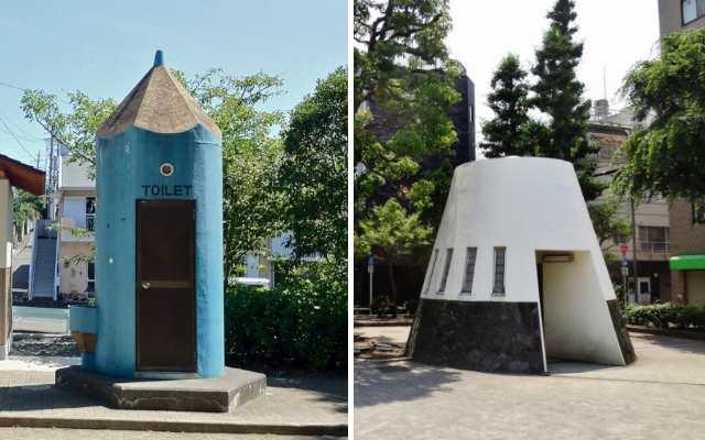 Самые необычные общественные туалеты в Японии