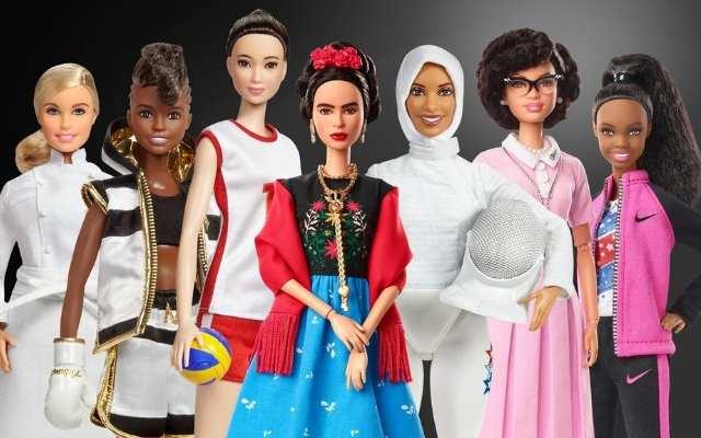 Создали новых кукол «Барби», посвящённых известным женщинам прошлого и настоящего