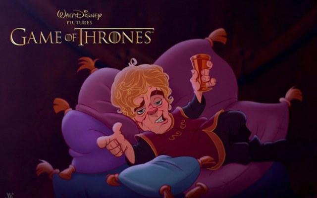 Так будут выглядеть персонажи «Игры престолов» если попадут в мир Диснея