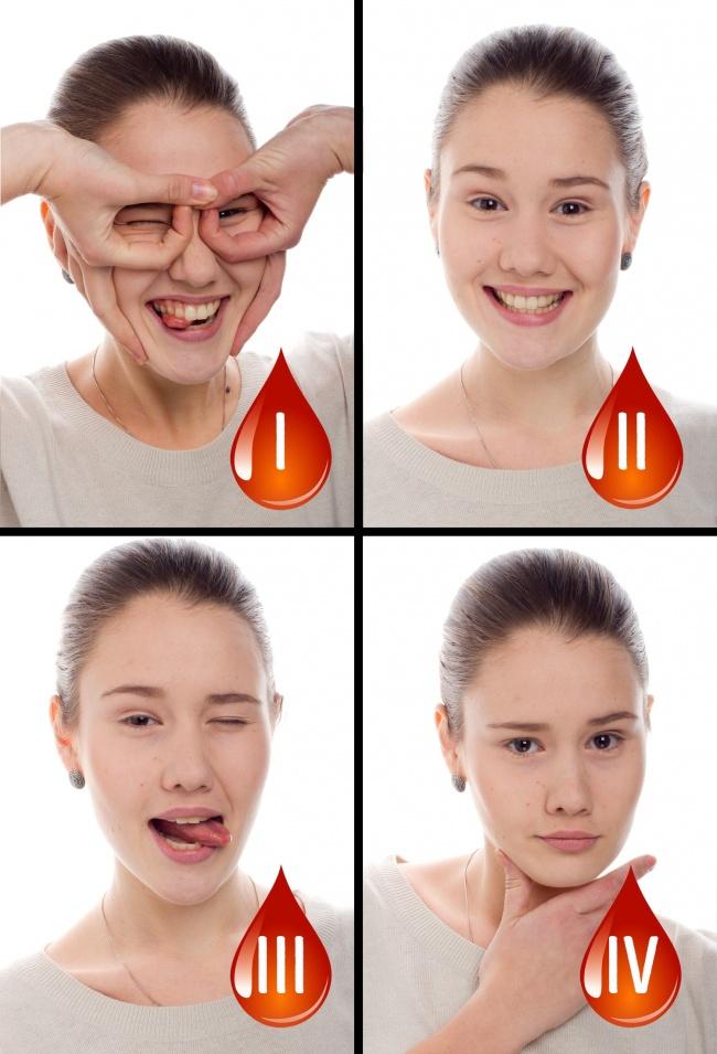 Тип крови определяет характер