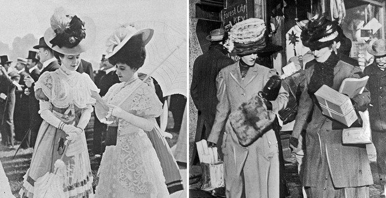Женская мода, 1900-е