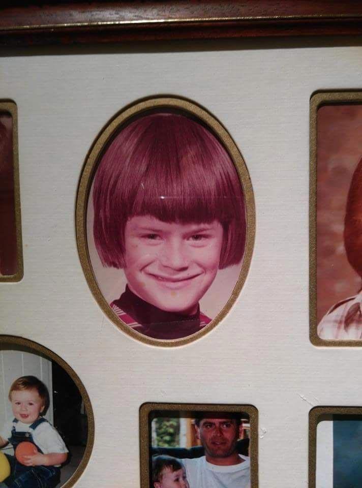 Причёска, которая идеально подошла к рамке
