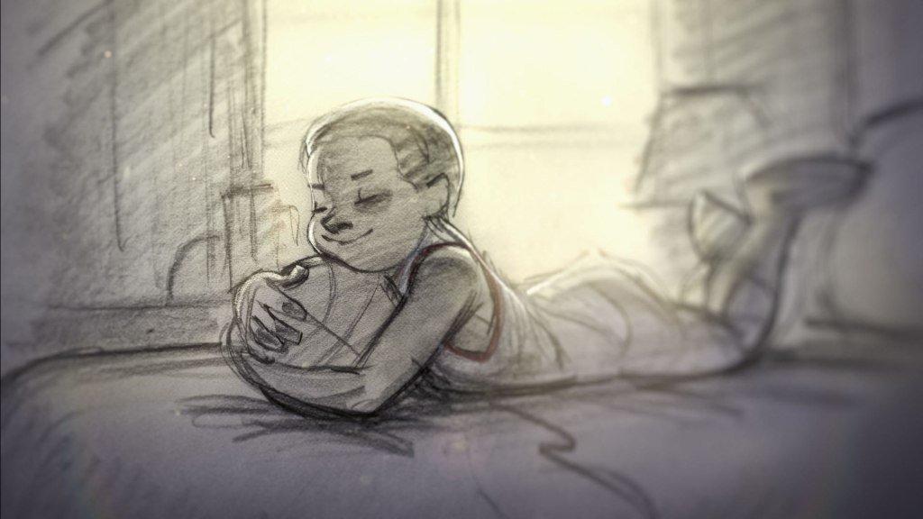 """Лучший короткометражный анимационный фильм Победитель: """"Дорогой баскетбол"""""""
