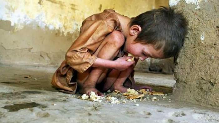 20 тысяч детей умирают ежедневно от голода