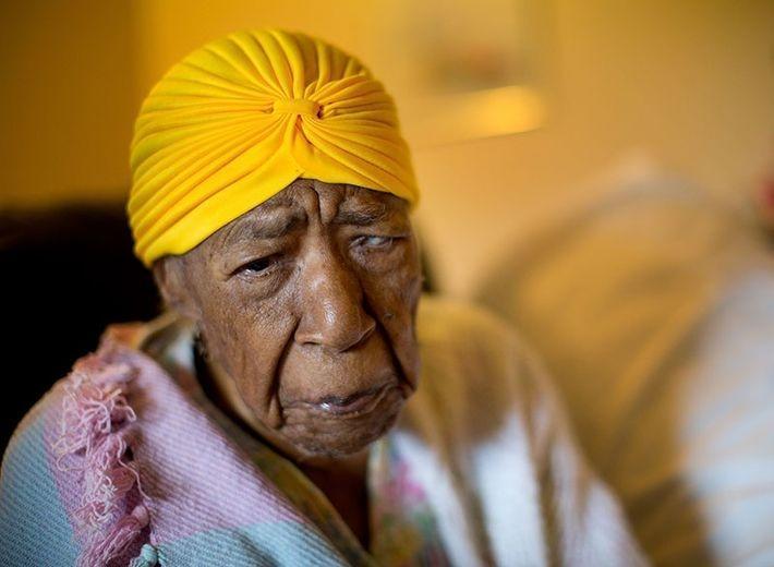 Сюзанна Мушатт Джонс является старейшим человеком в мире