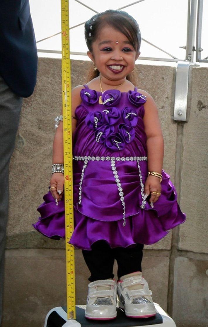 Самая маленькая женщина планеты