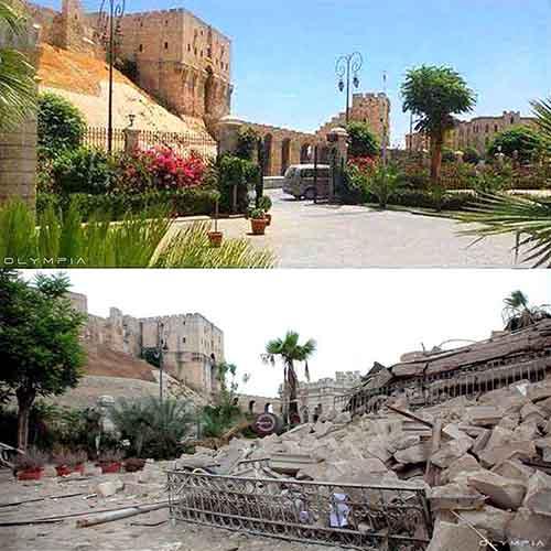 Сирия До и После войны