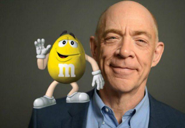 Жёлтое драже «M&M's»