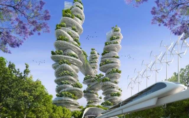 Города будущего, в которых живут без машин, денег и ключей