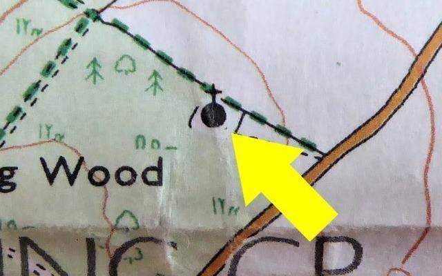 История о том, как мужчина искал необычное место отмеченное на карте