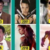 Известные киногерои тогда и сейчас