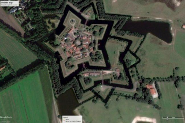 форт Буртанж в Нидерландах