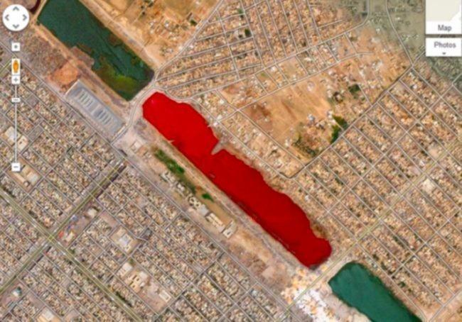 «кровавое озеро» в Ираке