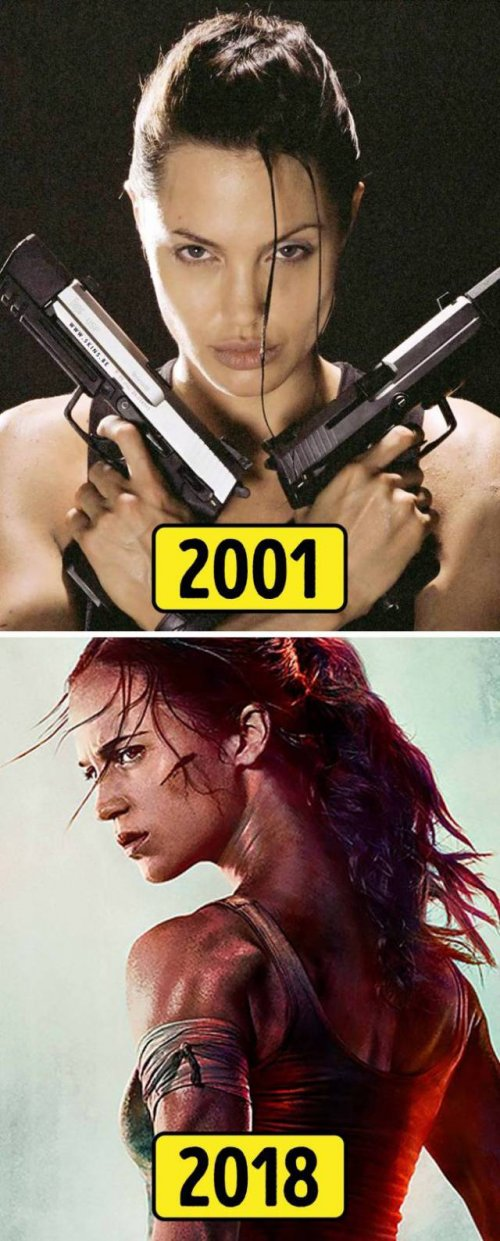 киногерои тогда и сейчас
