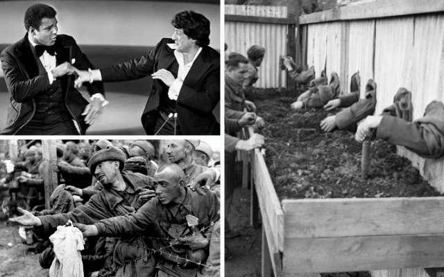 24 редкие фотографии, покажут историю с другого ракурса